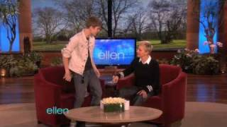 Justin Bieber's Belated Birthday Gift for Ellen!