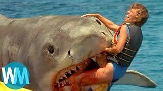 Top 10 Scariest Movie Shark Attacks