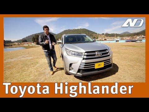 Toyota Highlander - Cuando necesitas pero no quieres una minivan