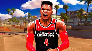 99 RUSSELL WESTBROOK is a TRIPLE-DOUBLE MACHINE in NBA 2K21