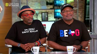 Spike Lee And Ron Stallworth