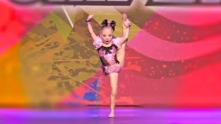 5 YEAR OLD EVERLEIGH'S 1ST DANCE COMPETITION SOLO!!! (she wins first place!)
