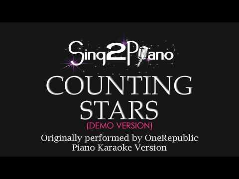 Baixar Counting Stars (Piano Karaoke Demo) OneRepublic