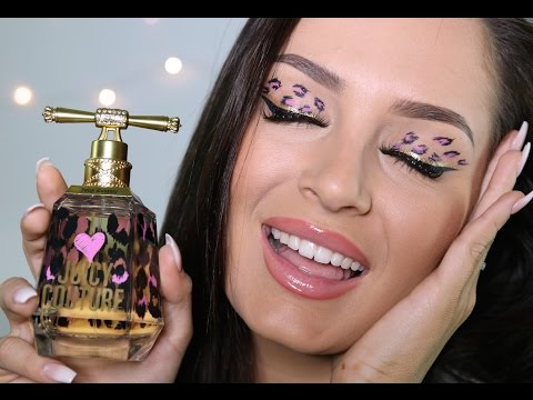 I Love Juicy Couture! Pink Leopard Print Makeup Tutorial