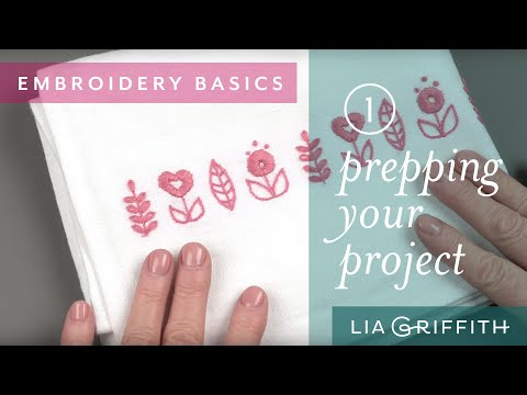 Embroidery Tips & Tricks