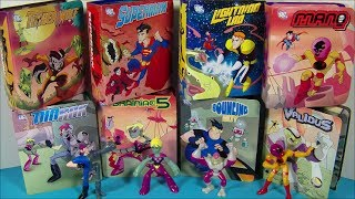 2007 DC LEGION OF SUPER HEROES SET OF 8 McDONALD'S HAPPY MEAL TOY'S VIDEO REVIEW