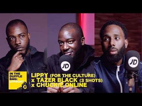 jdsports.co.uk & JD Sports Promo Code video: LIPPY (FOR THE CULTURE) x TAZER BLACK (3 SHOTS) x CHUCKIE ONLINE   JD IN THE DUFFLE BAG: UPFRONT