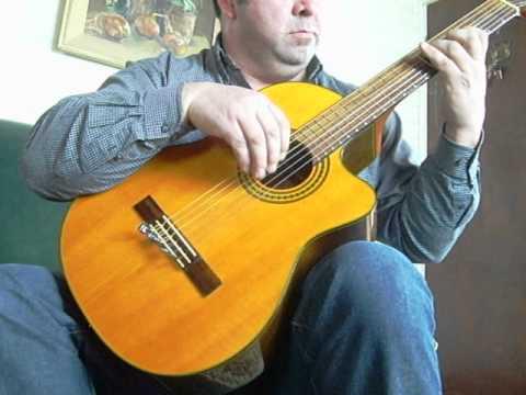 punteo de cueca en guitarra por manuel montero angol