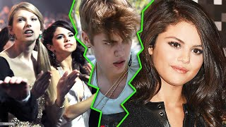 Selena Gomez was unhappy because justin Bieber received the iHeartRadio music awards nominations.