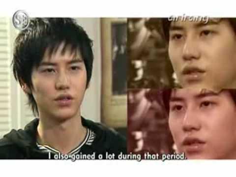 Super Junior - Arirang TV Showbiz Extra - KyuHyun Monologue