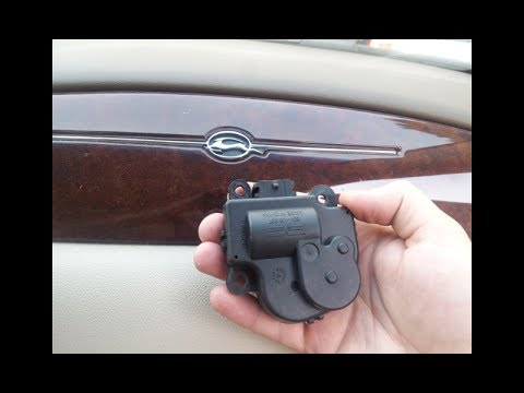 Chevy Blend Door Actuator Replacement 2006 2013 Impala