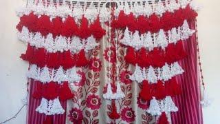 gate parda design  gate hanging  woolen design  door hanging