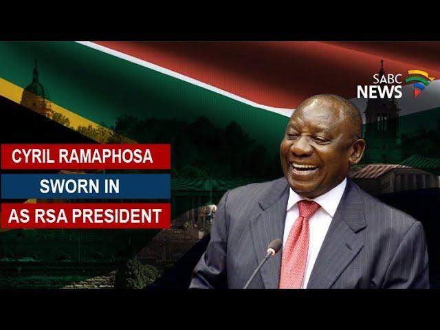 國會一致通過 南非執政黨黨魁獲選總統