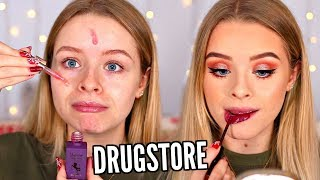 FULL FACE DRUGSTORE FIRST IMPRESSIONS!! | sophdoesnails