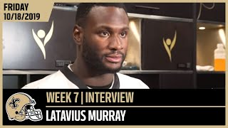 Latavius Murray Looks to Take Advantage of Increased Reps | New Orleans Saints Football