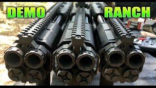The Triple Double, 6 Barrel Shotgun