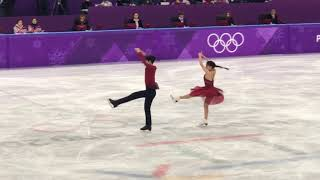 Alex Shibutani and Maia Shibutani 2018 Pyeongchang Olympic Free Dance 114.86
