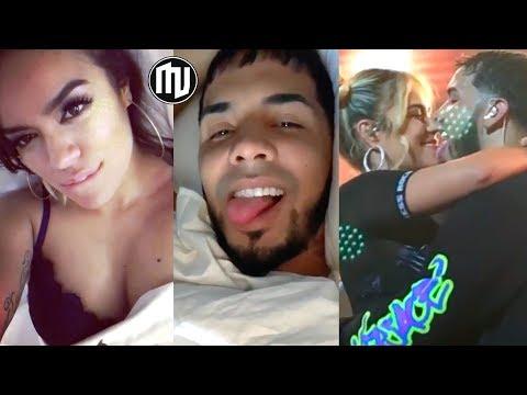 """¡UY! ¿Karol G dice que su cama suena con Anuel? """"Mi Cama"""" en vivo en Colombia"""