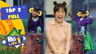 Bố Là Số 1 | Tập 3 FULL: Hari Won chết mê cô bé 7 tuổi tái hiện xuất sắc vai Cám của NSƯT Thành Lộc
