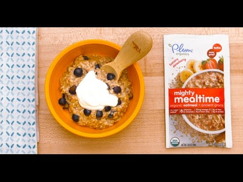 Breakfast Blues? Add This to Tot's Oatmeal!