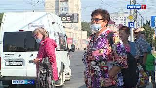 Омичей предложили больше не пускать в общественный транспорт без масок