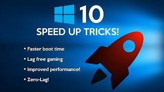 How to Speed Up Your Windows 10 Performance! (New)