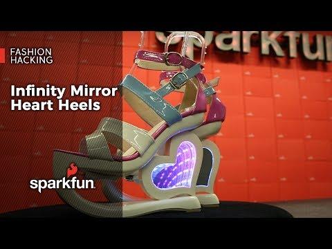Fashion Hacking: Infinity Mirror Heart Heels
