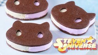 COOKIE CAT ICE CREAM SANDWICHES - STEVEN UNIVERSE - NERDY NUMMIES