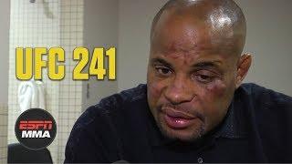 Daniel Cormier talks 'disappointing' loss vs. Stipe Miocic, future fight plans   UFC 241   ESPN MMA