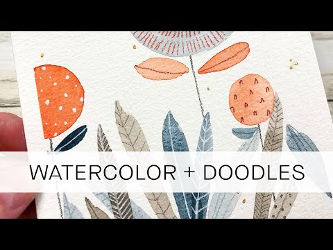 how to doodle with color pencils **for beginners