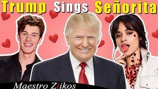Shawn Mendes, Camila Cabello - Señorita (Donald Trump Cover)