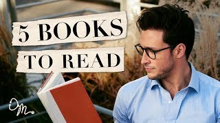 5 Books That'll Change Your Life | Book Recommendations | Doctor Mike