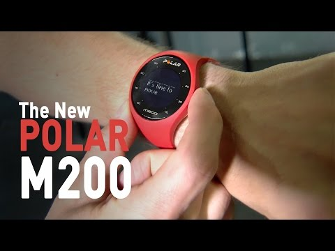 Run Faster and Better With the Polar M200 GPS Running Watch