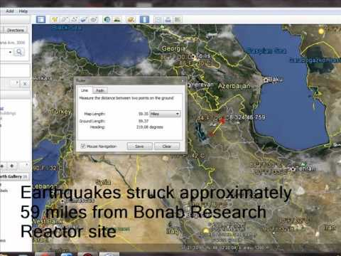WW3 HAARP Targeting Iran Nuclear Reactors with Earthquakes