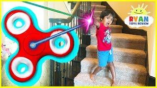 GIANT FIDGET SPINNER Chase and Hide N Seek Kids Pretend