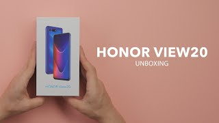 Honor View 20 - unboxing - RTV EURO AGD