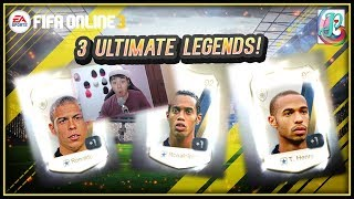 ~3 ULTIMATE LEGENDS! BUT JOKE~ NEW YEAR SERIAL PACKAGE 2019 OPENING - FIFA ONLINE 3