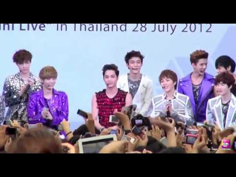 [HD/ENG] 120728 EXO's Mini Live in Thailand [Part 1-2]