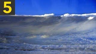 Top 5 Hurricane Eye Walls - Incredible