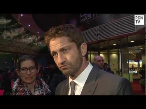 Gerard Butler Interview Olympus Has Fallen European Premiere