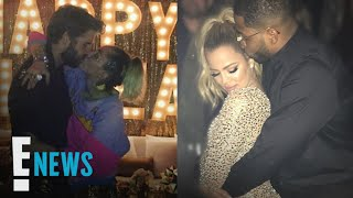7 of the Cutest Celebrity New Year's Eve Kisses   E! News
