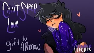 Can't sleep love MEME  gift for Aphmau
