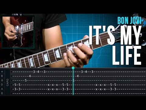 Baixar Bon Jovi - It's My Life (como tocar - aula de guitarra)