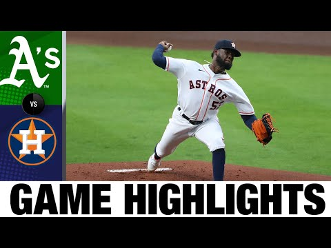 A's vs. Astros Game Highlights (4/8/21) | MLB Highlights