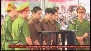 Phiên tòa xét xử vụ án Nguyễn Hải Dương giết 6 mạng người ở Bình Phước ngày 17.12.15
