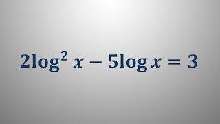 Logaritemska enačba 10