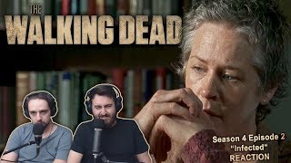 "The Walking Dead Season 4 Episode 2 Reaction ""Infected"" (1/2)"