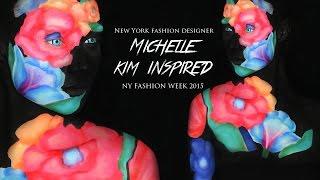 Flower Makeup Tutorial (Designer, Michelle Kim Inspired)