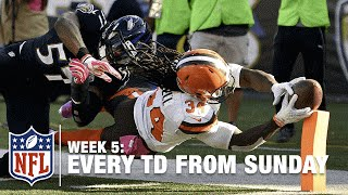Watch Every Touchdown from Sunday (Week 5) | NFL RedZone