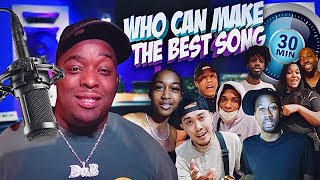 Who Can Make The Best RAP SONG In 30 Minutes . . . PART 1 !!!